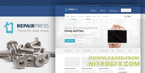 ThemeForest - RepairPress v1.4.2 - GSM, Phone Repair Shop WP - 13065600