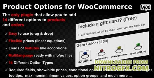CodeCanyon - Product Options for WooCommerce v4.148 - WordPress Plugin - 7973927