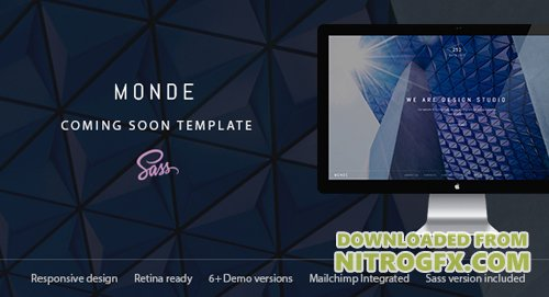 ThemeForest - Monde v1.0 - Creative Coming Soon & Maintenance Mode Template - 19130497