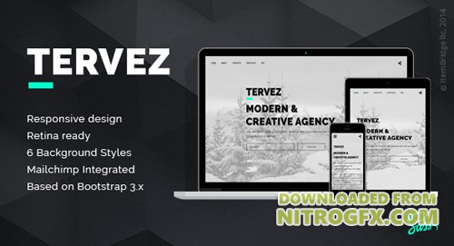 ThemeForest - Tervez v1.0.1 - Creative Coming Soon & Maintenance Mode Template - 19130527