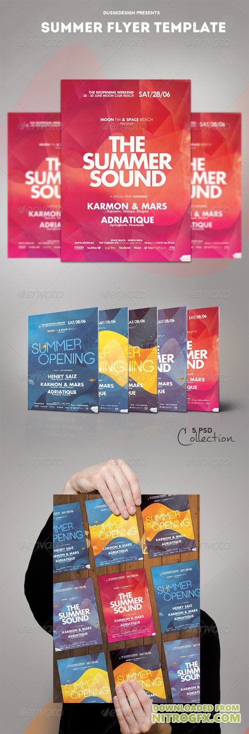 Summer Flyer Template 5048114