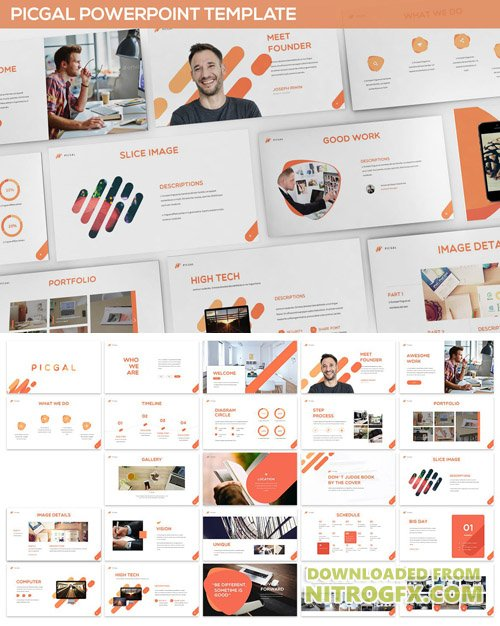 PICGAL Powerpoint Template