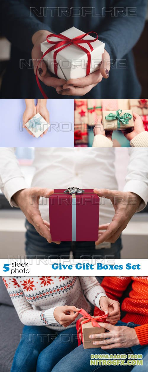Photos - Give Gift Boxes Set