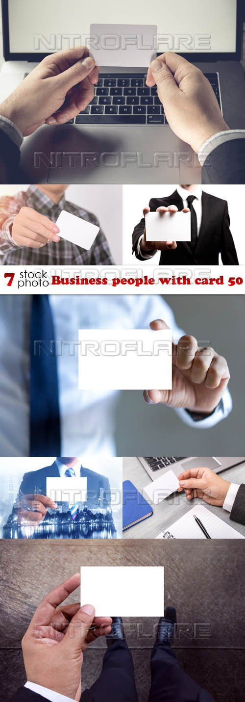 Photos - Business people with card 50