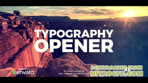 Typography Opener 20836352 - Project for After Effects (Videohive)orld - Project for After Effects (...