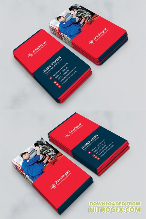 Business Card – Auto Repair Vertical