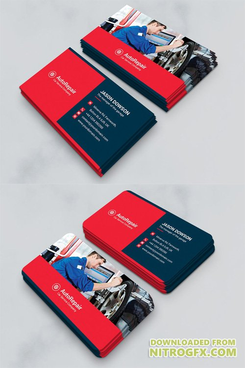 Business Card - Auto Repair