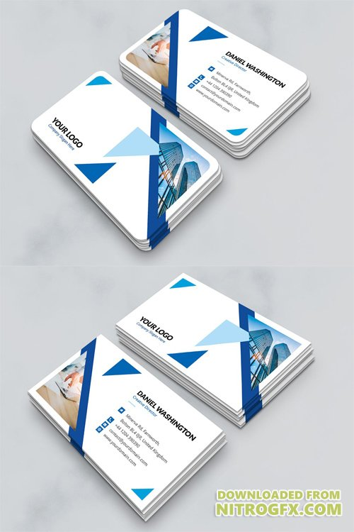 Business Card - Triangle Multipurpose