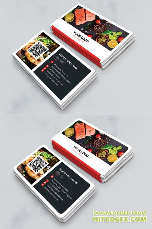 Business Card - Restaurant