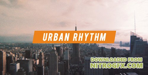 Urban Rhythm | Modern Opener - Project for After Effects (Videohive)