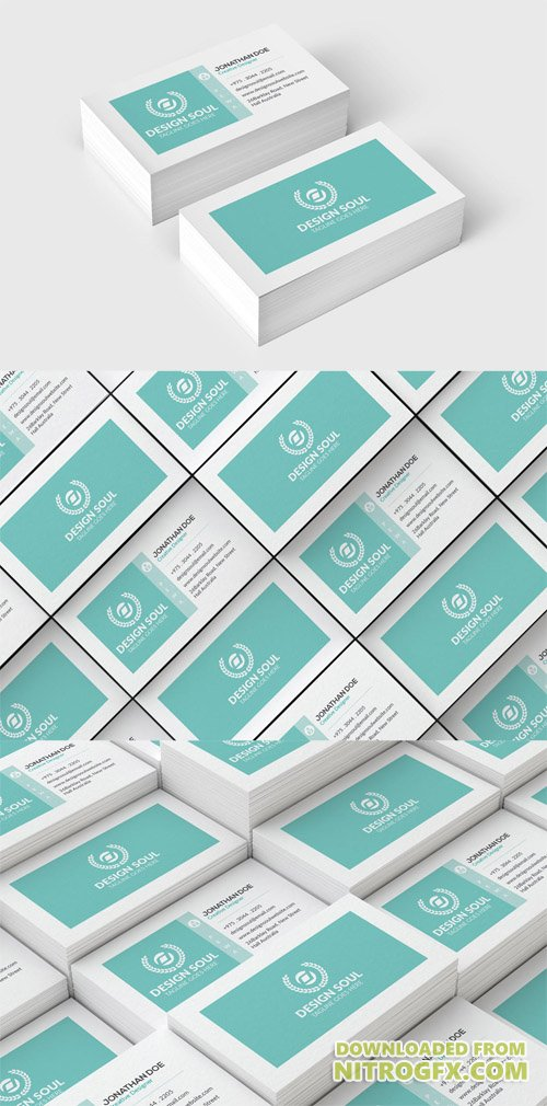 PSD Corporate Business Card 2