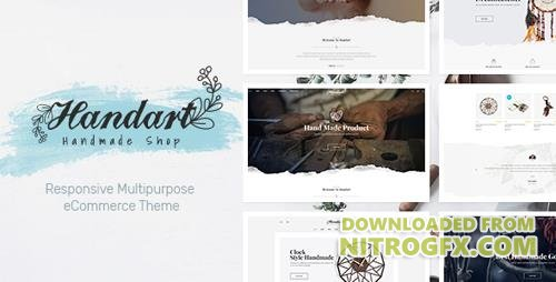 ThemeForest - HandArt v1.0 - Opencart 3 Theme for Handmade Artists and Artisans - 20810144