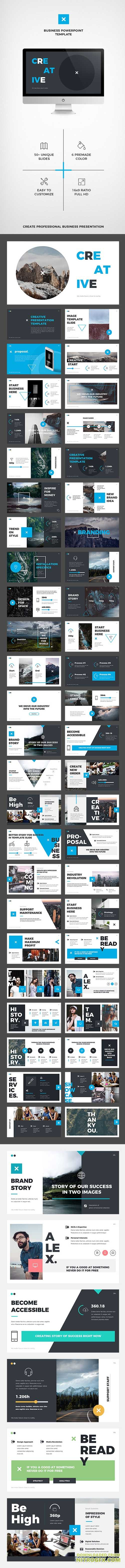 Business Powerpoint Template 20877780