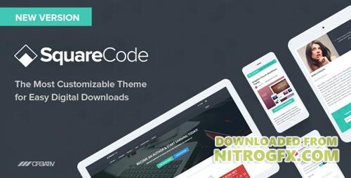 ThemeForest - SquareCode v2.8.0 - Marketplace for Easy Digital Downloads - 8219662