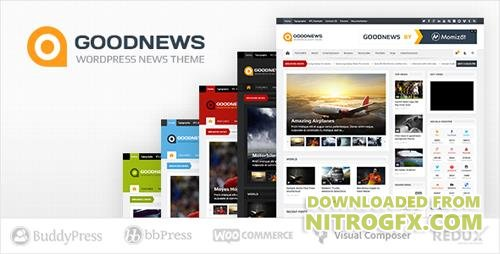 ThemeForest - Goodnews v5.8.9 - Responsive WordPress News/Magazine - 1150692