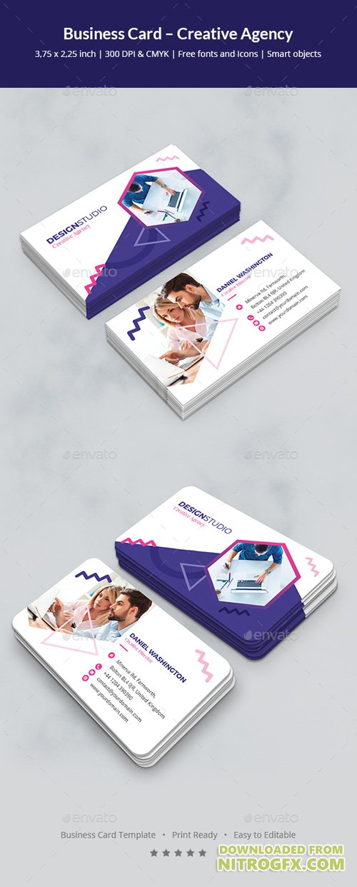 Business Card – Creative Agency 20923716