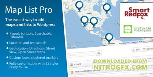 CodeCanyon - Map List Pro v3.21.9 - Google Maps & Location directories - 2620196