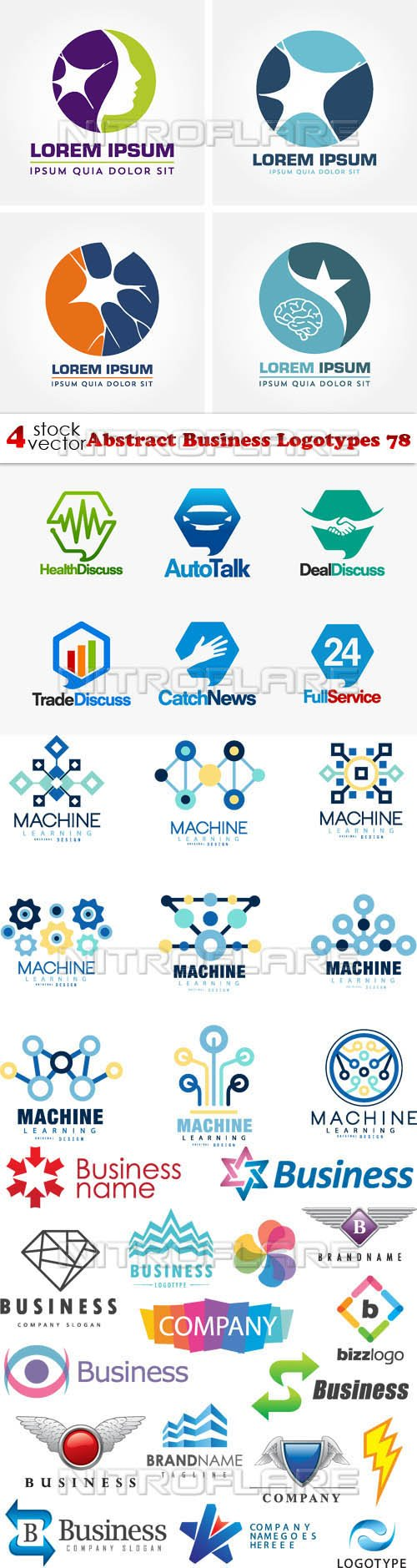 Vectors - Abstract Business Logotypes 78