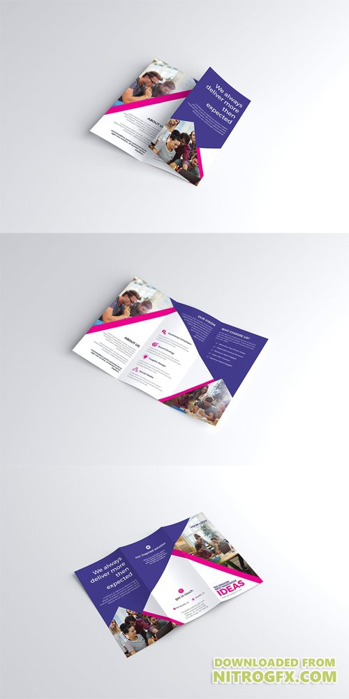 Trifold Brochure PSD