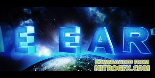 The Earth - Trailer - Project for After Effects (Videohive)