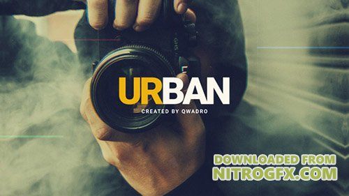 Urban Intro 20842371 - Project for After Effects (Videohive)