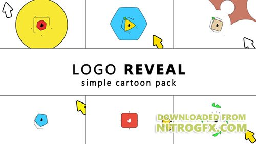 Simple Cartoon Logo Reveal - Project for After Effects (Videohive)