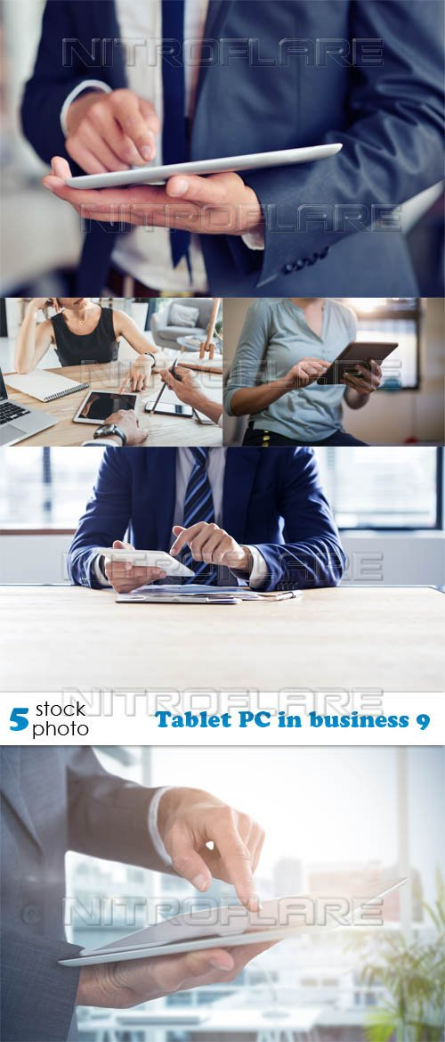 Photos - Tablet PC in business 9