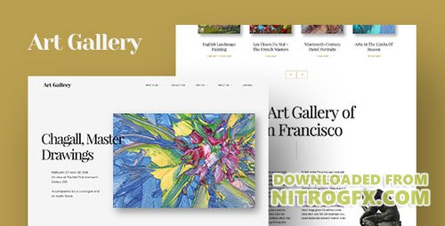 ThemeForest - Arte v1.0 - Art Gallery WordPress Theme - 20633505