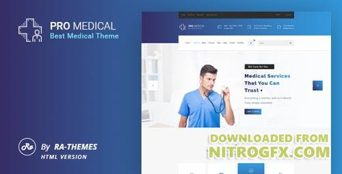 ThemeForest - ProMedical v1.0 - Health And Medical HTML Template - 20029081