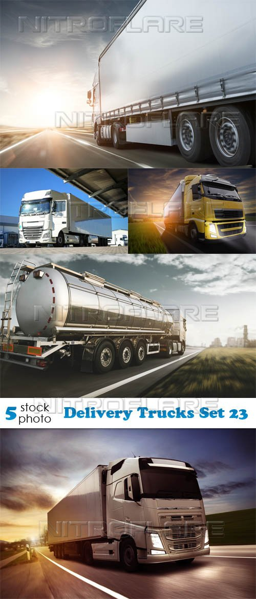 Photos - Delivery Trucks Set 23