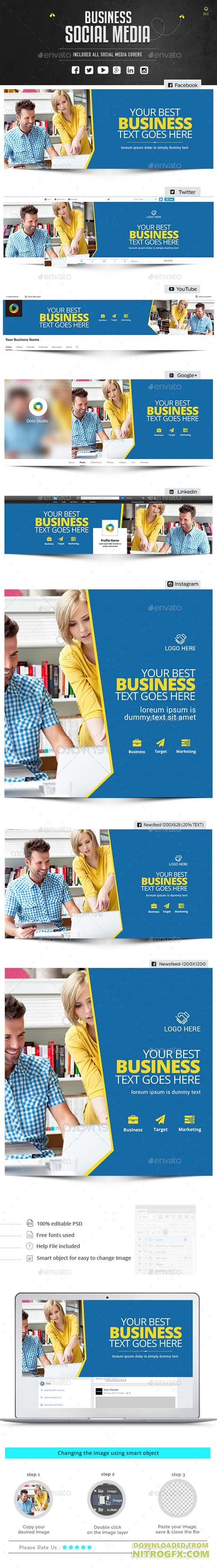 Business Social Media Package 20950048