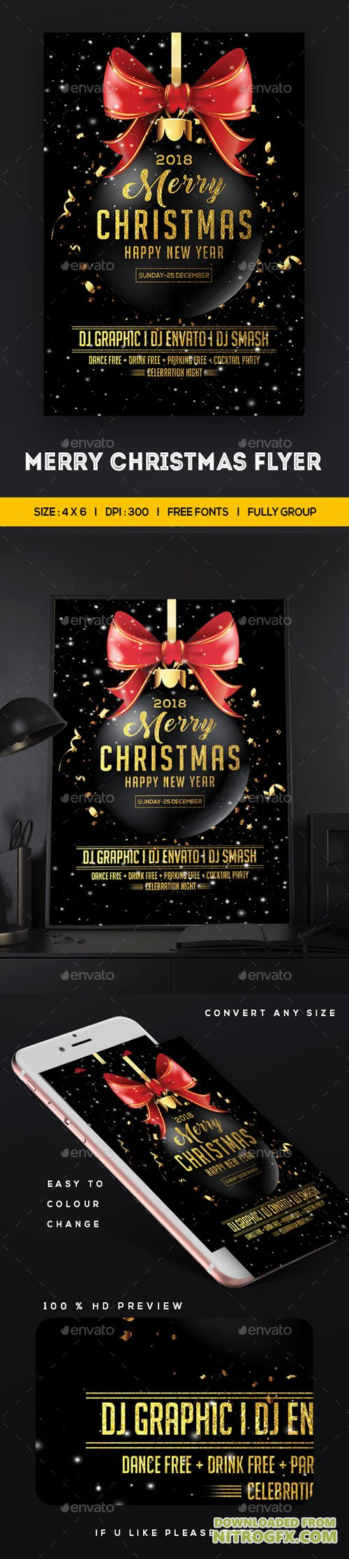 Merry Christmas Flyer 20950842