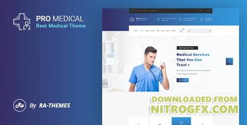 ThemeForest - ProMedical v1.0 - Health care & Medical PSD Template - 16602382