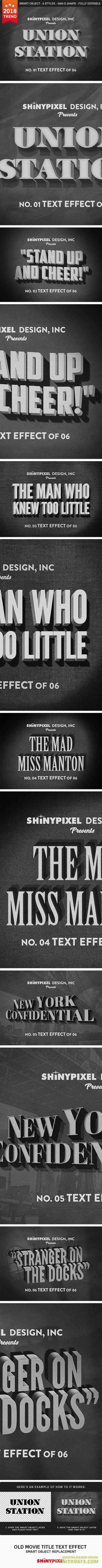 Old Movie Title - Text Effect 20961399