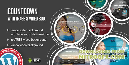CodeCanyon - CountDown With Image or Video Background v1.1 - Responsive WordPress Plugin - 18914339