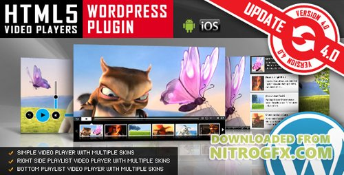 CodeCanyon - HTML5 Video Player WordPress Plugin v4.7.3.1 - 1613464