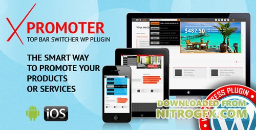 CodeCanyon - xPromoter v1.2 - Top Bar Switcher Responsive WordPress Plugin - 16455608