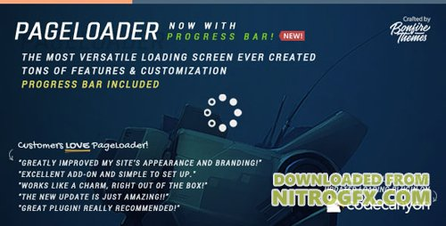 ThemeForest - PageLoader v2.9 - Loading Screen and Progress Bar for WordPress - 6594364