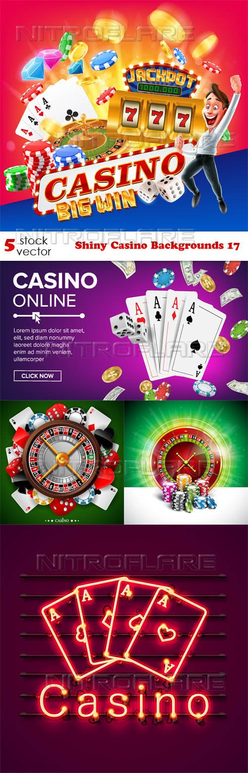 Vectors - Shiny Casino Backgrounds 17