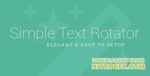 CodeCanyon - Simple Text Rotator v1.2 - WordPress Plugin - 6588203