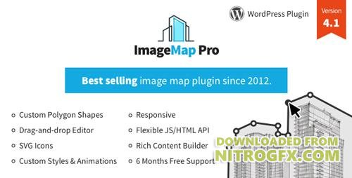 CodeCanyon - Image Map Pro for WordPress v4.1.1 - Interactive Image Map Builder - 2826664