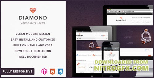 ThemeForest - Diamond - Responsive Magento Theme (Update: 29 December 13) - 4608963
