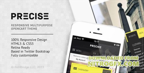 ThemeForest - Precise - Multipurpose Responsive OpenCart Theme (Update: 2 February 14) - 5334693