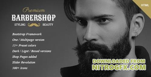 ThemeForest - BarberShop v1.0 - Hair Saloon Spa Tattoo HTML Template (Update: 28 December 15) - 12849732