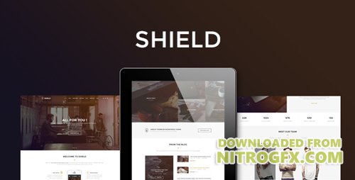 ThemeForest - Shield v1.0 - Corporate and Shop Responsive HTML Bootstrap 3 Template - 16535154