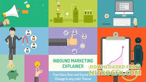 Inbound Marketing Explainer - Project for After Effects (Videohive)