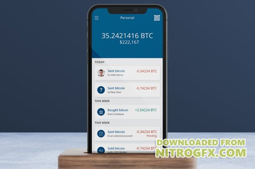 Cryptocurrency Wallet 8 Mobile Ui - H
