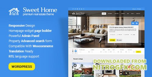 ThemeForest - Sweethome v1.5.2 - Responsive Real Estate WordPress Theme - 7970493