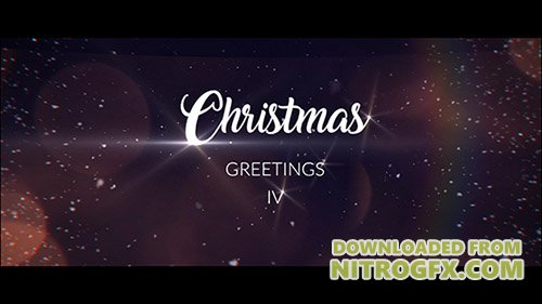 Christmas Greetings IV - Project for After Effects (Videohive)