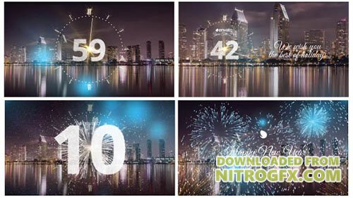 Silver New Year Countdown 2018 - Project for After Effects (Videohive)